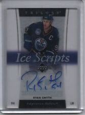 2005-06 Upper Deck Trilogy Ice Scripts Ryan Smyth Auto