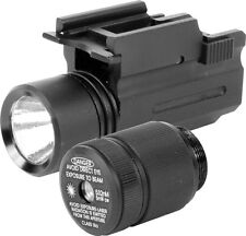 Aim Sports compact flashlight / green laser combo with quick release sku# Lgfq01