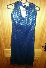 Vestido de fiesta Miss Sixty De Lujo Bnwt Talla M