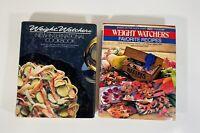 Weight Watchers New International Cookbook 1986 & WW Favorite Recipes 1986