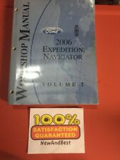 2006 ford expedition lincoln navigator   workshop  Service Repair manual vol.2