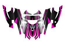 Arctic Cat Sabercat Firecat Graphics 2003 - 2006  F5 F6 F7 #1900 Hot Pink