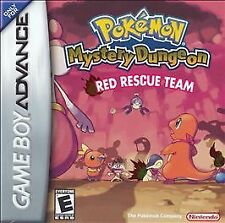 ***POKEMON MYSTERY DUNGEON RED GAME BOY ADVANCE GBA COSMETIC WEAR~~~