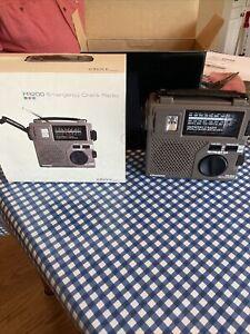 Grundig FR200 Emergency Crank Radio New in Box