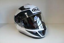 HJC i70 Tas MC10S weiss Dekor Motorrad Helm Integralhelm Gr. M