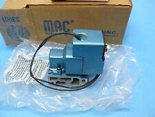 Mac 257B-116Aa Solenoid Valve 1/4 Npt 3 Way 2 Position Nc/No 120Vac/24Vdc New