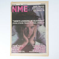 NME magazine 8 February 1986 JOHN LYDON cover The Jam Soup Dragons Go-Betweens