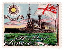 (I.B) Cinderella : Delandre Great War Ships - HMS Superb