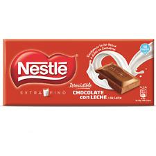 4X125gr Nestle Milk Chocolate Bars - Extra Fine Milk Chocolates - Gluten Free