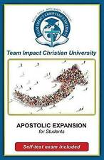 NEW Apostolic Expansion for students by Dr Jeff van Wyk Ph.D.