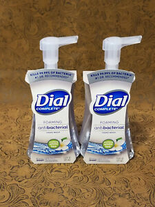 Dial Complete White Tea Foaming Hand Soap 2 Bottles of 7.5 oz  each