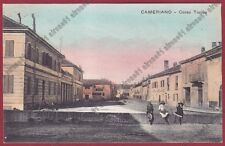 NOVARA CASALINO 20 CAMERIANO Antica OSTERIA DEL CELESTE Cartolina VIAGGIATA 1918