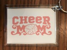 Cheerleading Keychain with Cheer MOM 8