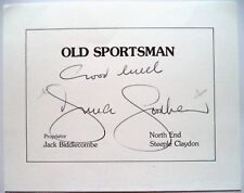 Duncan Goodhew 1980 olympique Natation GOLD MEDAL WINNER Original encre autographe