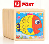 NEW Kids Wooden Jigsaw Puzzle Toy Children Cute Baby Sea Creatures Educational