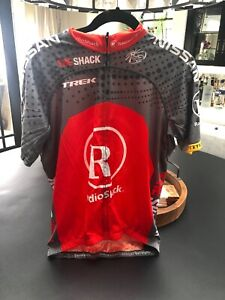 Livestrong Radio Shack Trek Cycling Bike Racing Athletic Jersey Small BONTRAGER