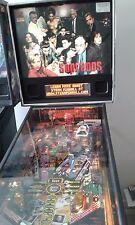 Sopranos pinball machine in very good condition by Stern.