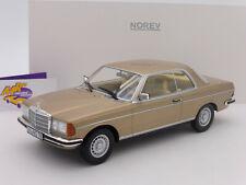 """Norev 183702 # Mercedes Benz 280 CE Baujahr 1980 """" champagne-metallic """" 1:18 NEU"""