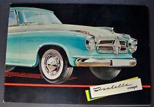 1959 Borgward Isabella Coupe Sales Brochure Folder Excellent Original 59