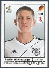 PANINI EURO 2012- #239-DEUTSCHLAND-GERMANY-BAYERN MUNICH-BASTIAN SCHWEINSTEIGER