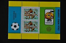INDONESIA 1982 BL 54 SOCCER VOETBAL MNH