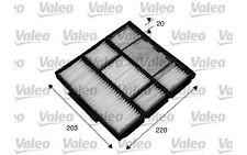 VALEO Filtro, aire habitáculo AUDI Q3 TOYOTA COROLLA 715565