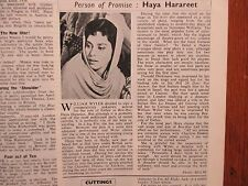 May, 1960 Films and Filming Magazine(HAYA HARAREET/PETER USTINOV/TREVOR  HOWARD)