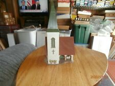 UNKNOWN MAKE HO SCALE ASSEMBLED BUILDING--CHURCH