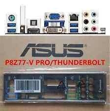 Original ASUS I/O IO BLENDE SHIELD P8Z77-V PRO/THUNDERBOLT  #G2723 XH