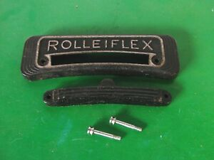 Rolleiflex T White Face Camera's Name Plate+CDS Dummy+Screws-Genuine OEM Parts