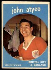 A&BC Footballers 1960 Black Back (B1) John Atyeo Bristol City No. 35