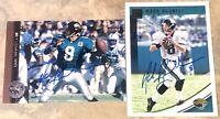 Mark Brunell fmr Jacksonville Jaguars NFL QB football card auto autograph LOT X2