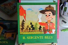 IL SERGENTE BILLY - COLLANA AURORA - BELLE ILLUSTRAZIONI CARROCCIO EDITORE