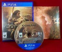 Conan Exiles (2018) SONY PlayStation 4 PS4 W/ Disc-Case-Artwork!