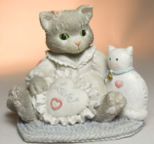 Calico Kittens: I'm Sew Glad You're Mine - 623512 - Needlepoint Heart - Love