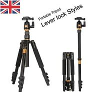 Travel Camera Tripod Monopod Ball Head Universal For Nikon Canon Sony DSLR SLR