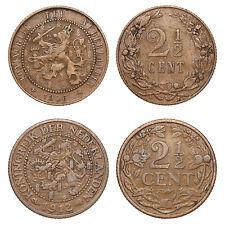 Netherlands - Lot  2½ Cent 1906, 1912