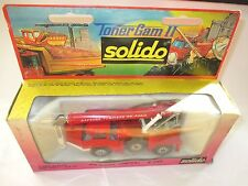 Grue Richier Pompiers Feuerwehr Kran fire engine mobile crane, Solido 1:50 boxed