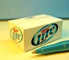 "Miniature Empty Beer Box, Artisan Designed ""Light Beer"" Dollhouse F8"