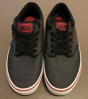 VANS Authentic Men Sneakers Black Size 6.5