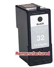 2 REM Lexmark 32 Black Cartridges for X7170 X7350 X8300 X8350 P915 P4350 P6250