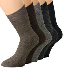 1-10 Damen Diabetiker Socken Strümpfe ohne Gummibund Grau Braun dünn weich