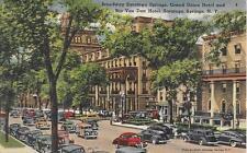 Sarasota Springs Broadway Grand Union Rip Van Dan Hotel NY not postally used