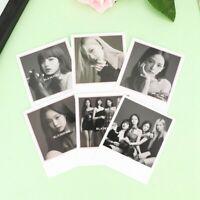6PCS Kpop Blackpink Fotokarten Lomo Karten LISA JENNIE JISOO Mini-Karten cRUWK
