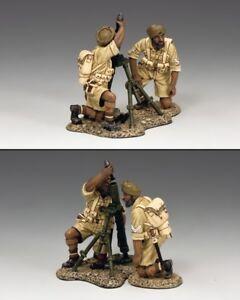 KING & COUNTRY EIGHTH ARMY EA103 BRITISH SIKH MORTAR TEAM MIB