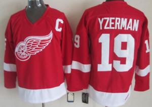 Red Wings Steve Yzerman Jersey M, L, XL, 2XL, 3XL