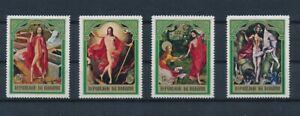 D173962 Burundi MNH Paintings Religious Art Easter 1969