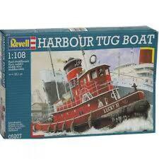 Harbour Tug Boat 1:108 Revell Model Kit
