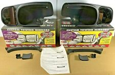 CIPA Custom Towing Mirror Extensions. Gmc Chevy Trucks, Suburban #10801 & #10802