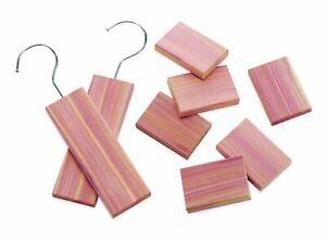 Whitmor Set of 6 Blocks and 2 Cedar Hang Ups